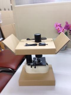 位相差顕微鏡の緩衝材